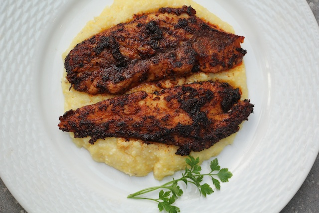 Classic Blackened Redfish