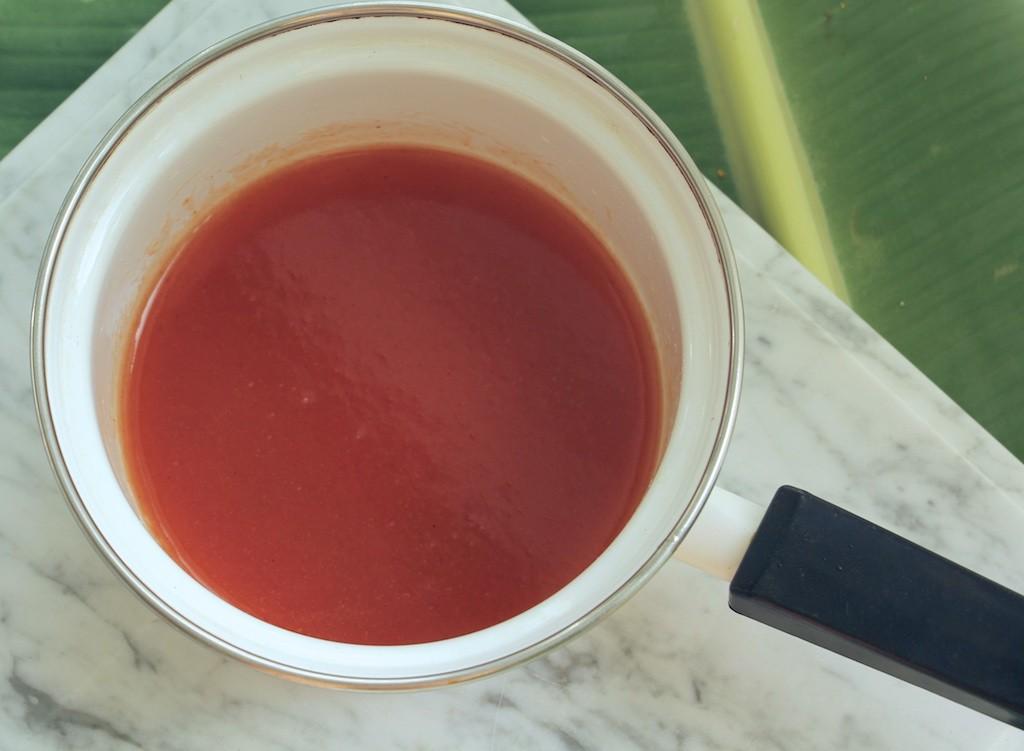 warm guava sauce
