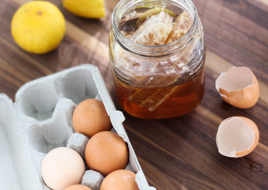 honey & lemon curd