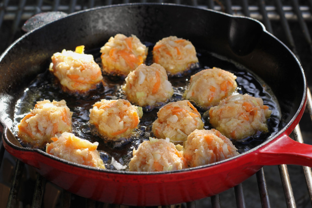 frying grouper fritters