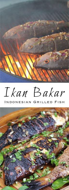 Ikan Bakar, Indonesian char-grilled fish