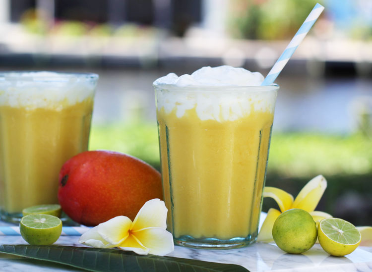 Mango Key Lime Pie Lassi