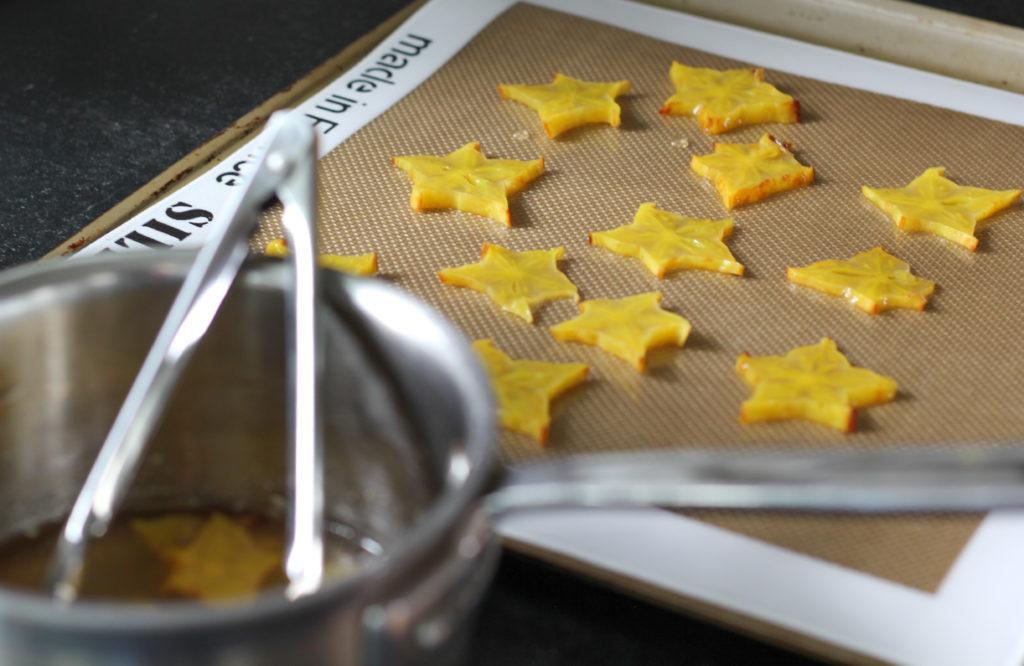 starfruit chips
