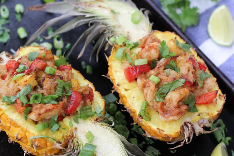 Pineapple Shrimp Boats