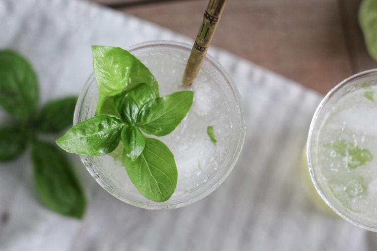 Gin & Basil Juice