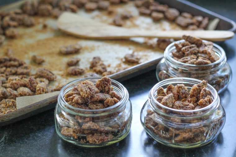 Cinnamon Orange Pecans