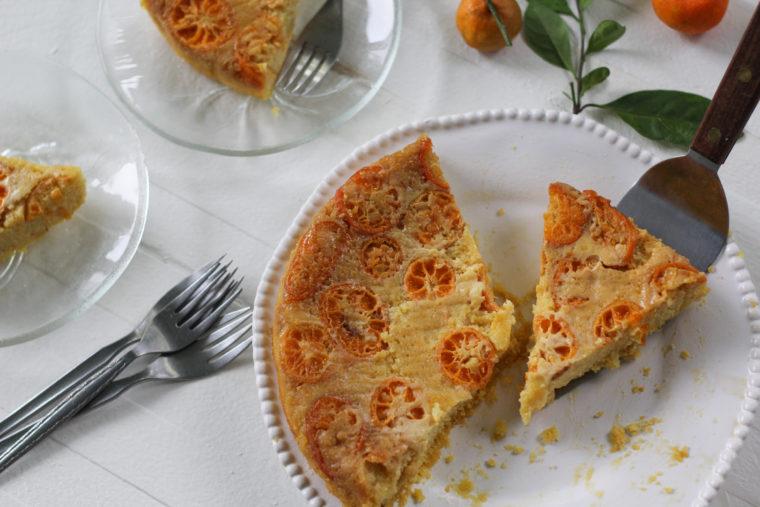 Calamondin Ricotta Torte