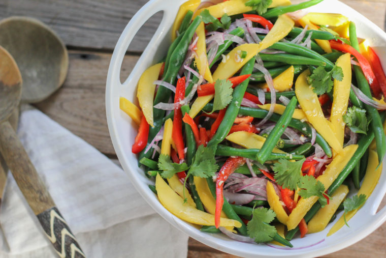 Mango Green Bean Thai Salad