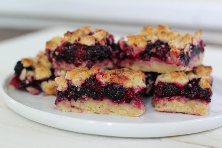 Mulberry Crumb Bars