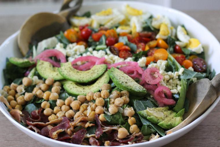 Collard Cobb Salad
